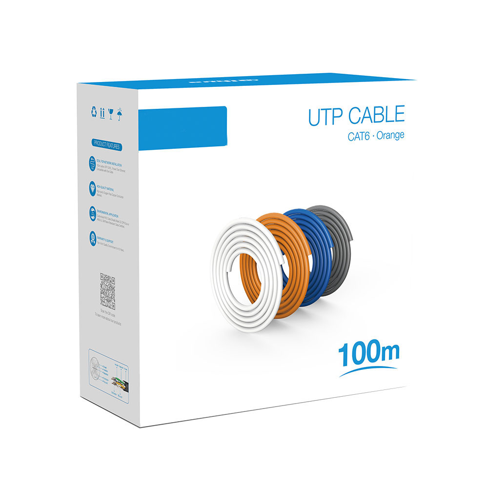 Cable de red UTP CAT6 PFM922I-6UN-C-100